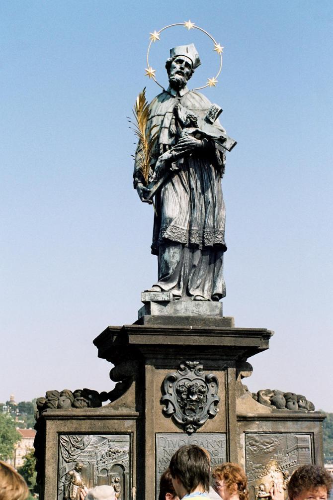 John of nepomuk front