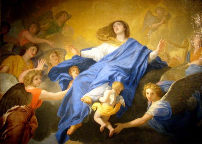 ++++Fête de L'Assomption de la Très Sainte Vierge Marie++++ L-assomption-de-la-vierge-