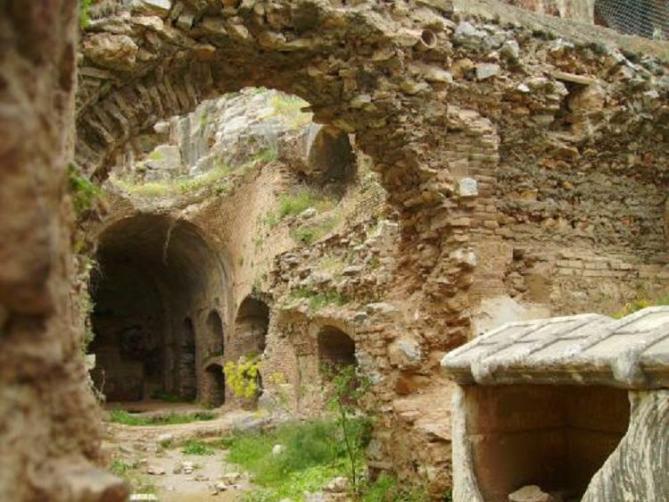 La grotte des sept dormants d ephese aujourd hui ionie empire romain d orient actuelle turquie 1