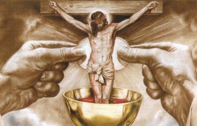 La vie en eglise corps et sang de jesus christ
