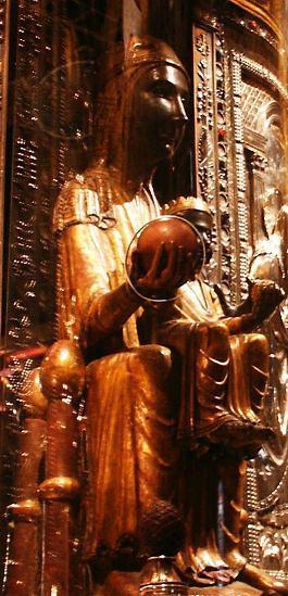 La vierge noire du xiieme siecle aux pieds de laquelle saint ignace deposa ses armes et renonca au monde 1