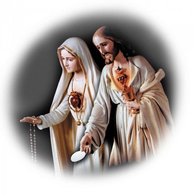 Les 2 c urs unis de jesus et marie 11