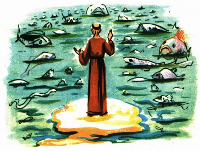 Les poissons autour de saint antoine