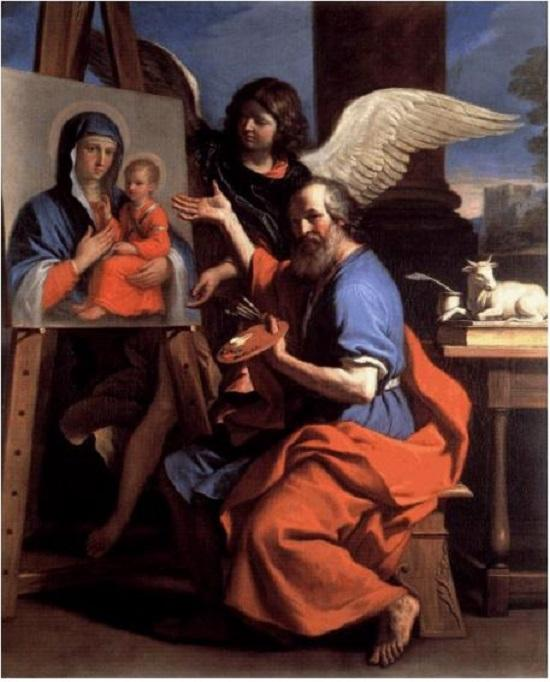 Luke evangelist guercino 2