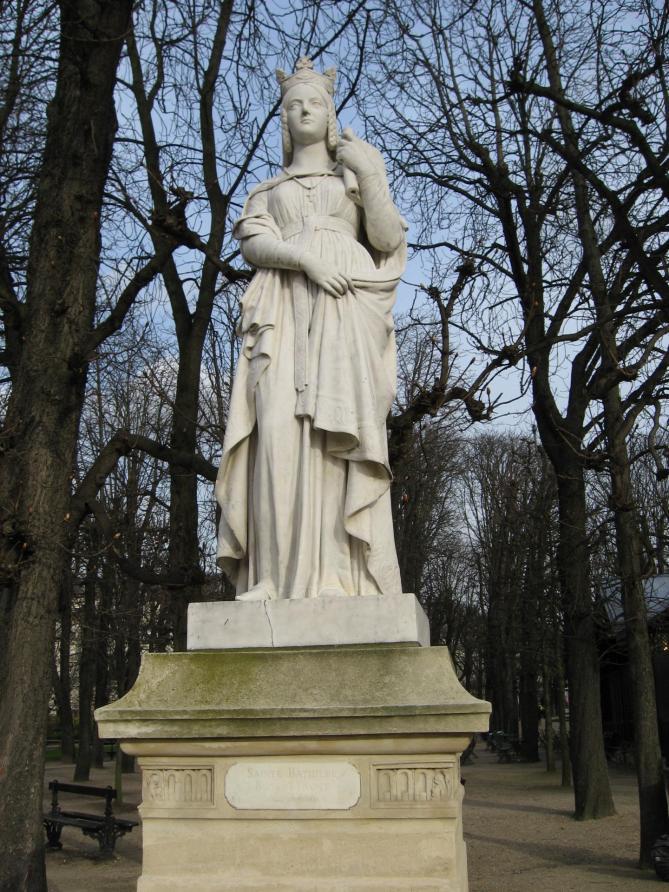 Luxembourg sainte bathilde
