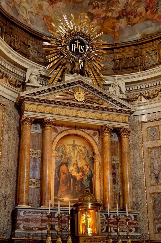 Main altar gesu 11
