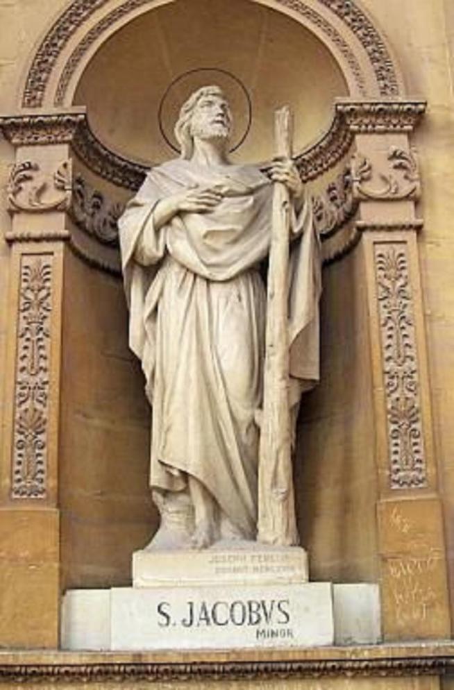 Malte mosta eglise statue saint jacques mineur 11