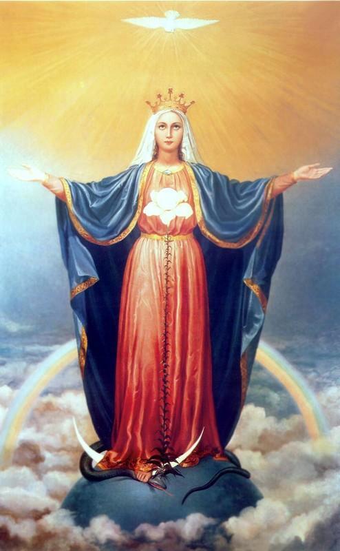 La Sainte Vierge Marie Médiatrice. Fête le 31 Août. Marie-est-la-mediatrice-de-toutes-les-graces-1