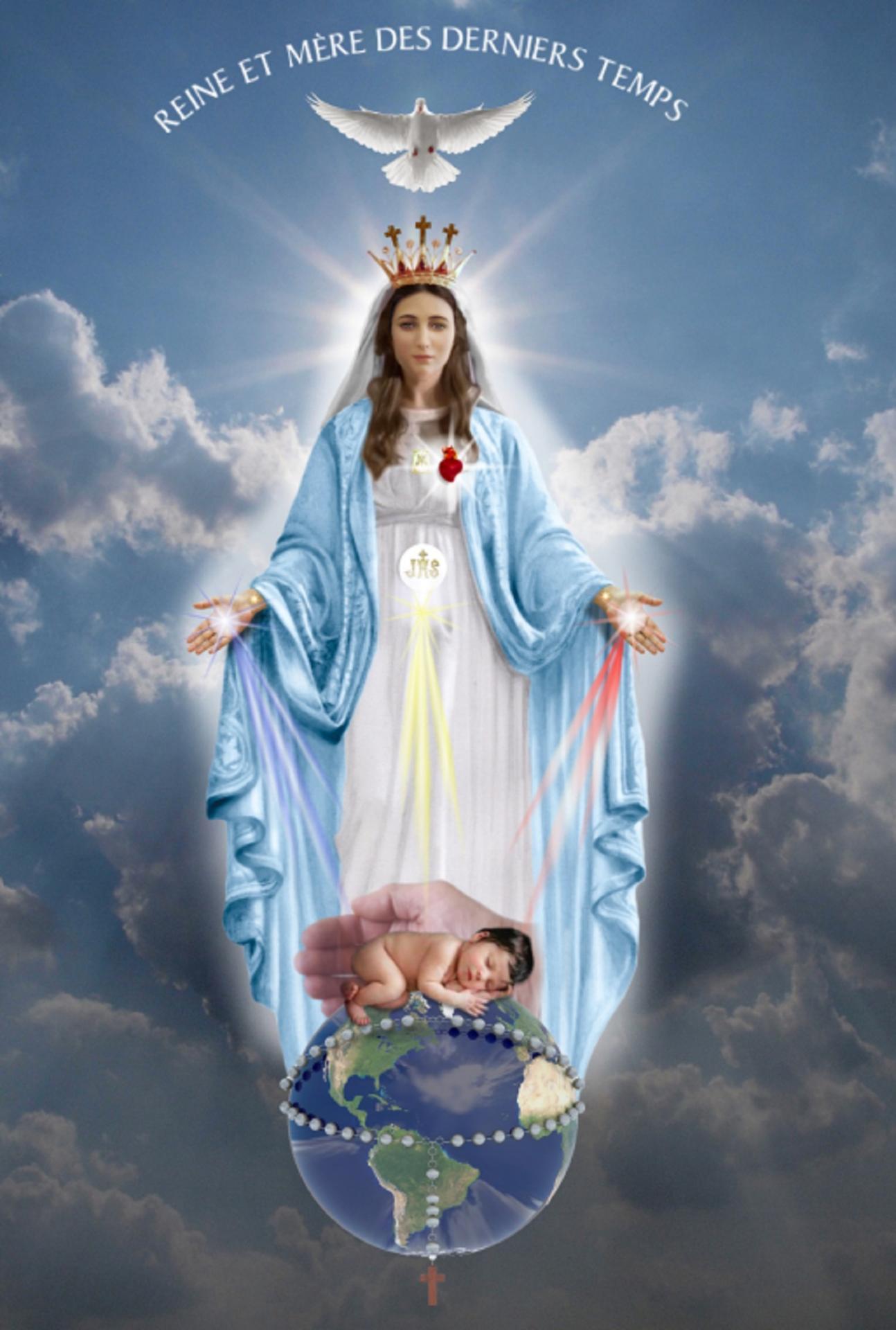 Sainte Vierge Marie Reine Fête Le 22 Août