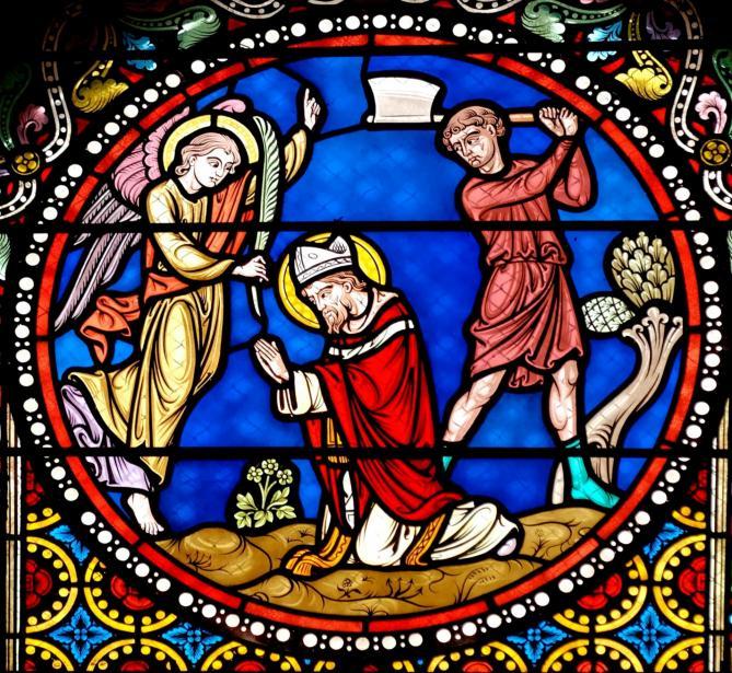 Martyrdom saint austremoine issoire top