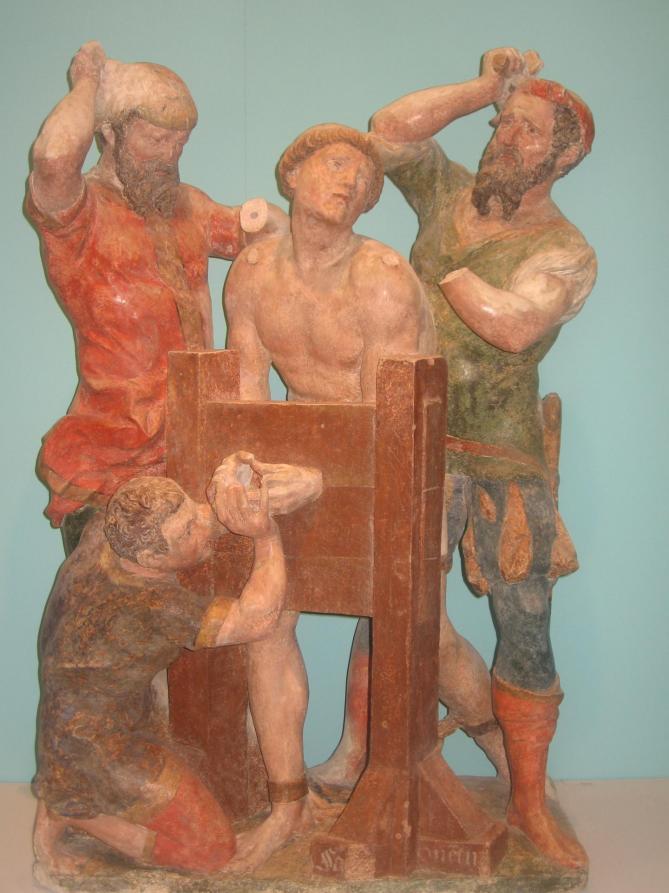 Martyre de saint quentin