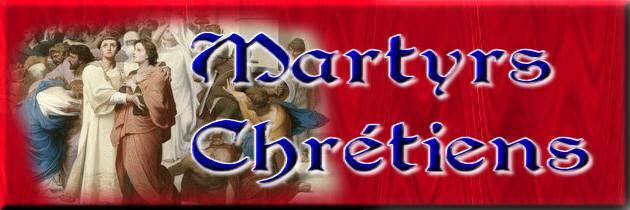 Martyrs chretiens tit