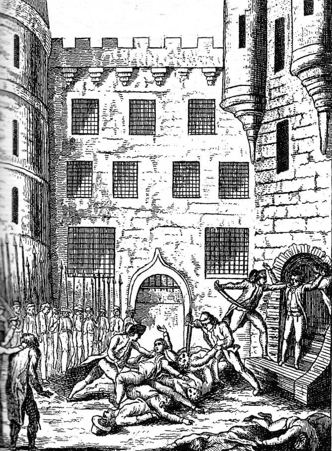Massacre chatelet 1792
