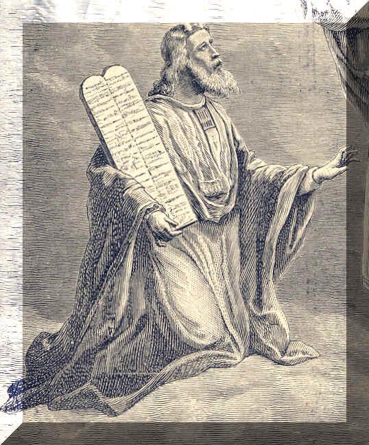 Saint mo se ancien testament l gislateur et proph te de la loi xiii me av j c f te le 04 - Les tables des 10 commandements ...