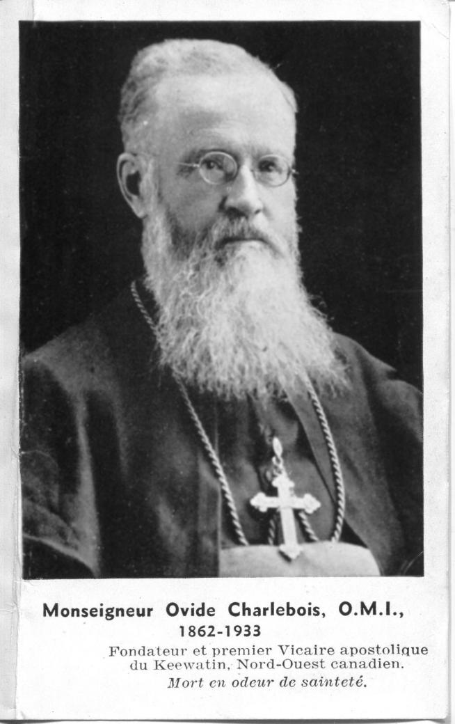 Monseigneur ovide charlebois o m i 1862 1933 recto tif