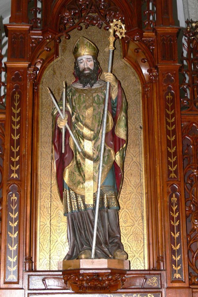 Niederwaldkirchen blasiuskapelle blasius altar 2 blasius