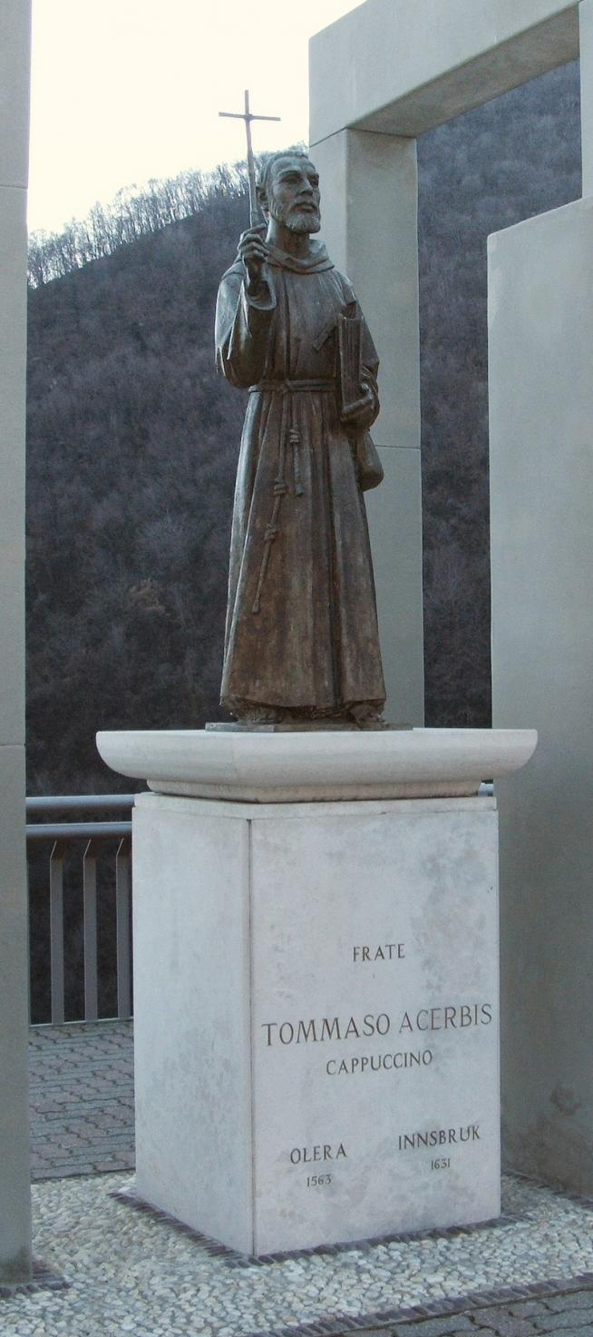 Olera statua tommaso acerbis