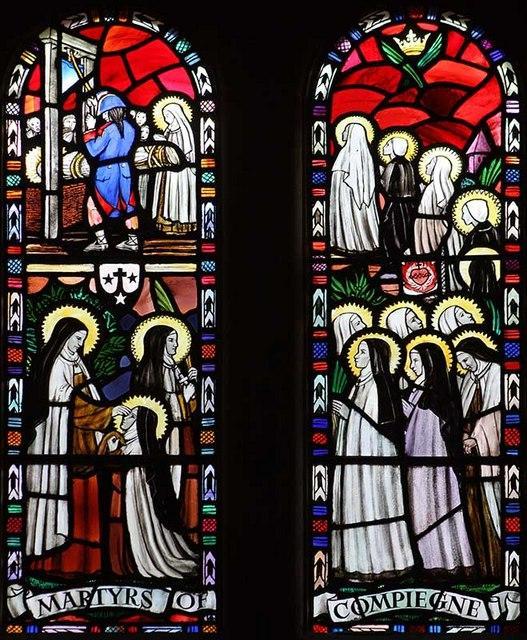 Our lady of mount carmel church quidenham norfolk windows geograph org uk 1084822