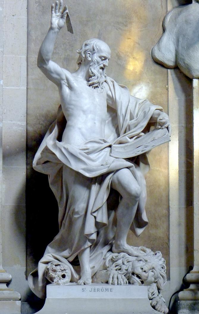 P1010205 paris ier eglise saint roch statue de saint jerome reductwk