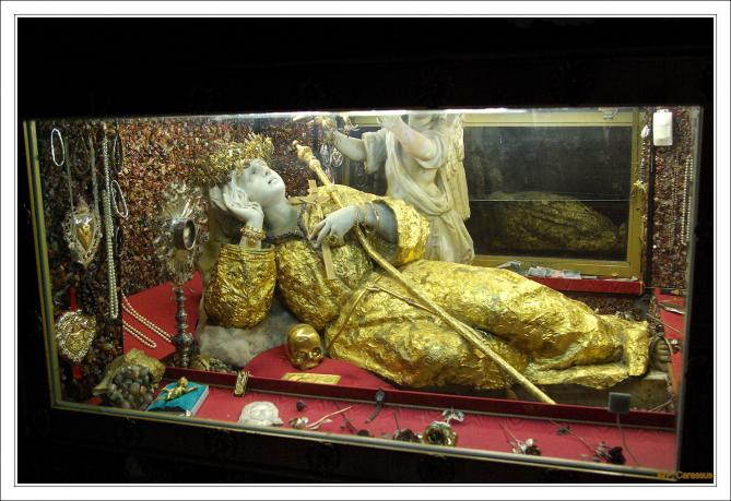 Palerme rosalia 1737