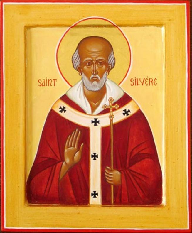 Pape saint silvere 11