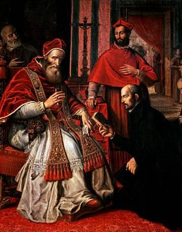 Paul iii and ignatius loyola
