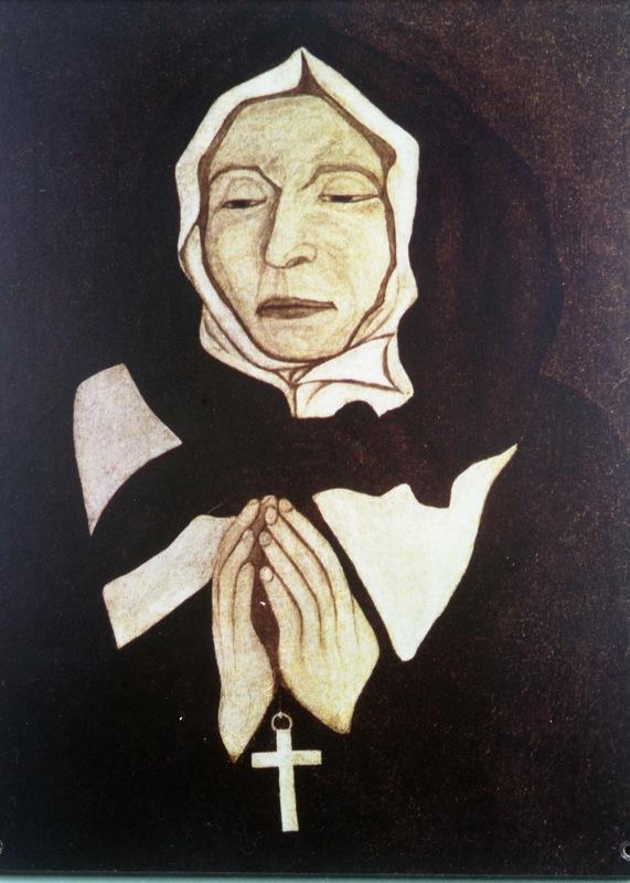 Piere le ber le vrai portrait de marguerite bourgeoys 1701