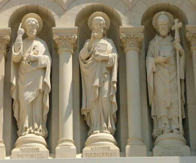 Pigalio saints pierre barnabe et jules 11