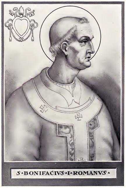 Pope boniface i illustration
