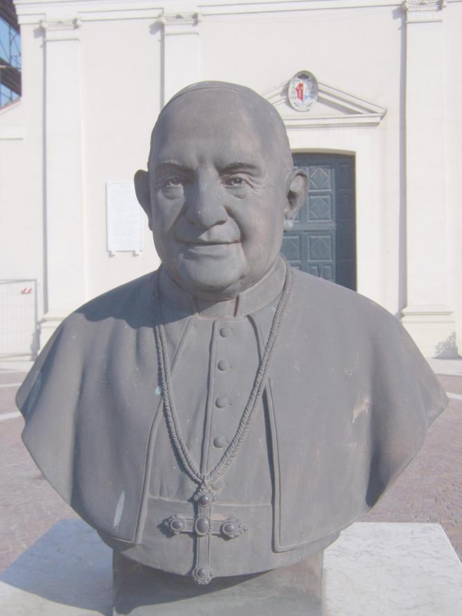 Pope john xxiii porto viro rovigo