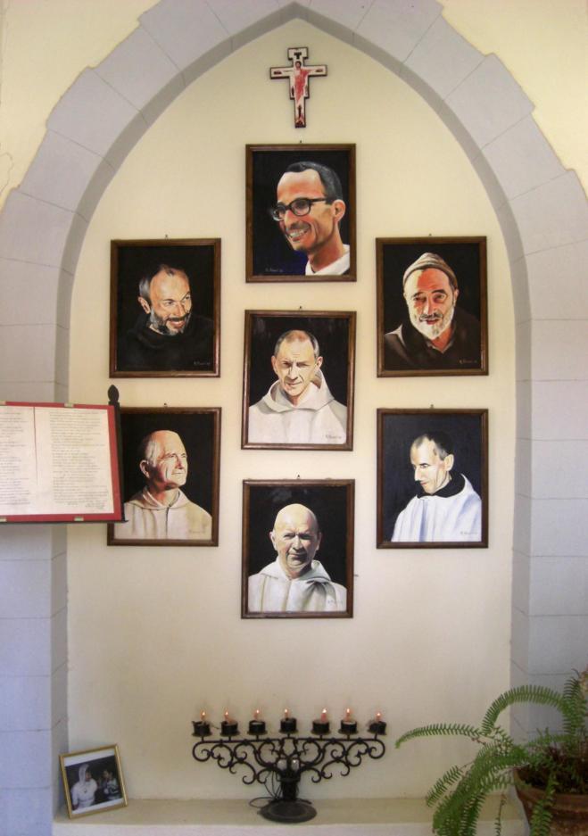 Portraits des fr res de la ct de tibhirine midelt maroc