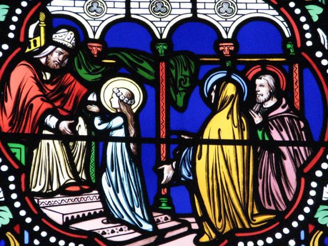 ✟Les Saints - Les Saintes du  Jour✟ - Page 18 Presentation-de-marie-la-roche-du-theil-2