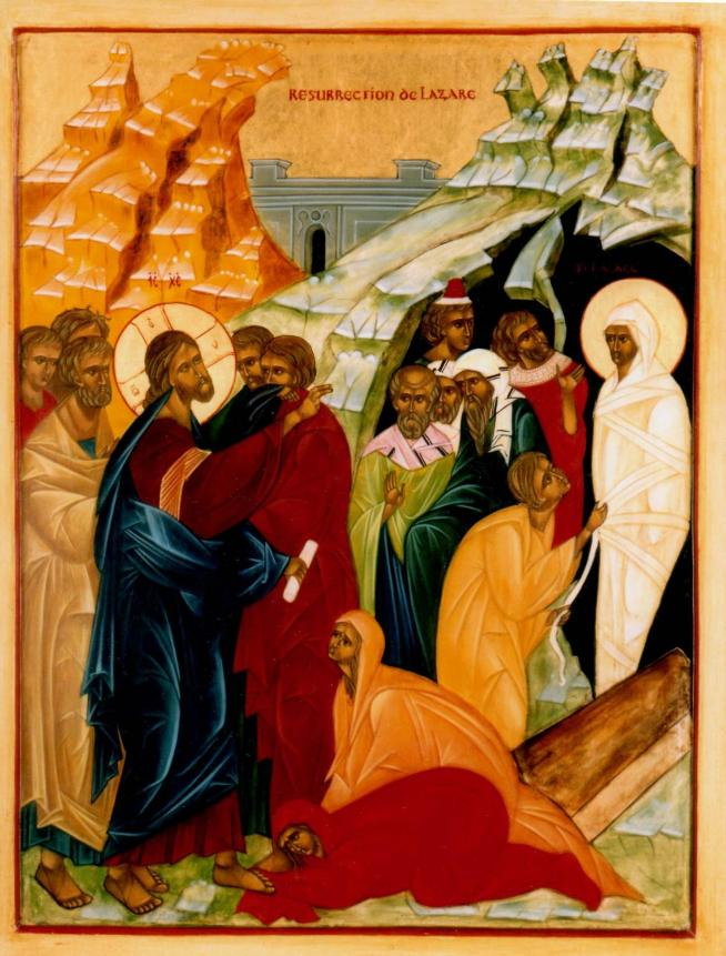 Resurrection de lazare 11