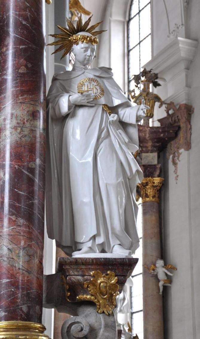 Rottweil predigerkirche statue 2 2
