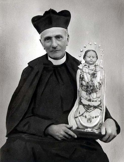 S st annibale and statue of our lady