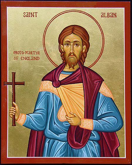 Saint alban soldat et martyr