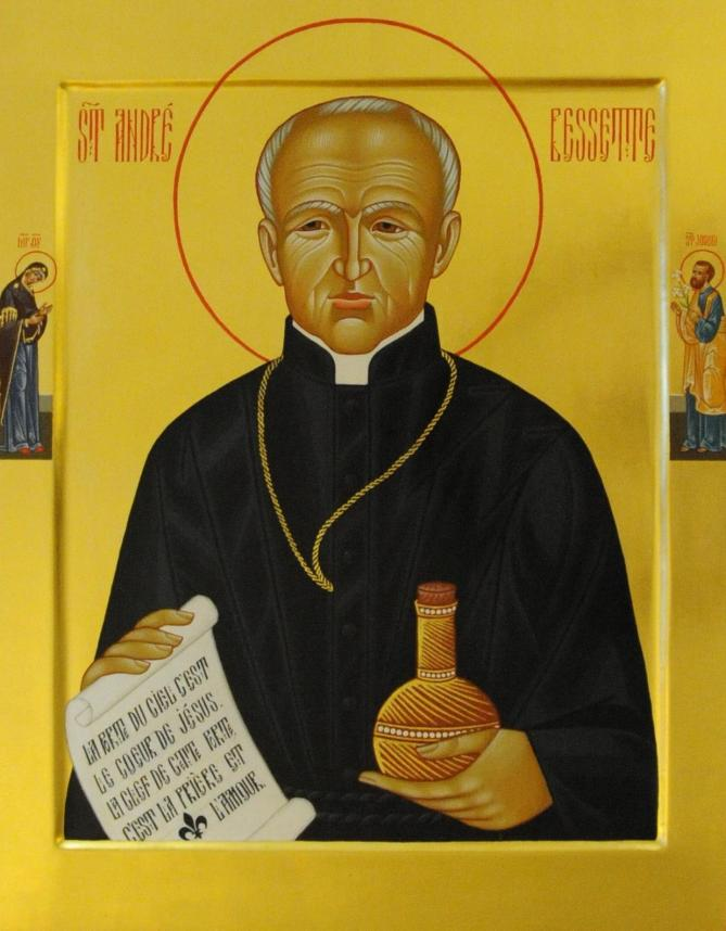 Saint andre bessette icon