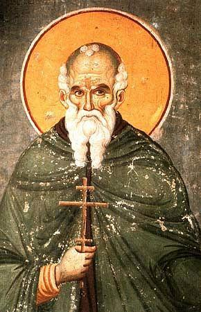 Saint athanase l athonite fondateur de la lavra au mont athos v 1005