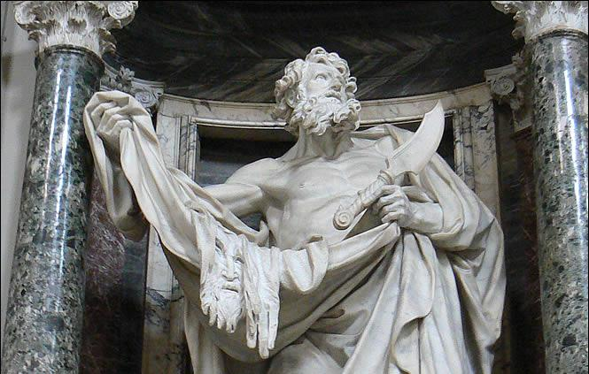 Saint barthelemy detail