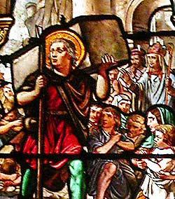 Saint benezet vitrail