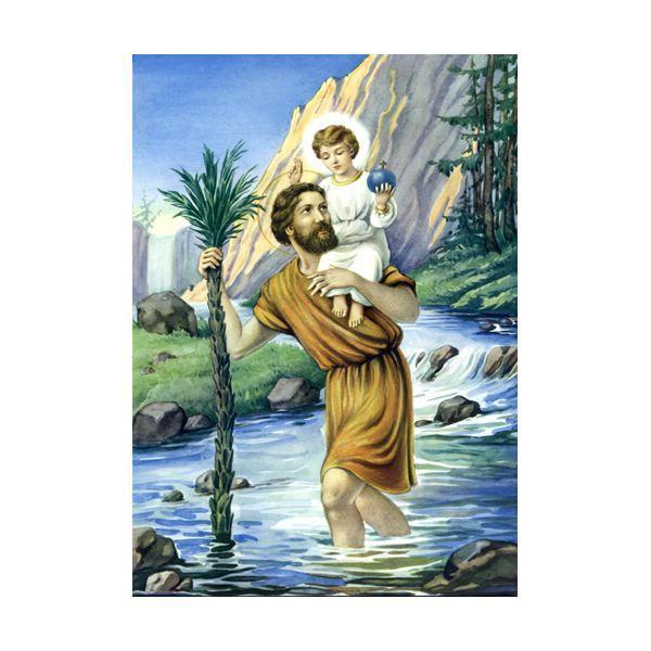 Saint christophe ic 8004