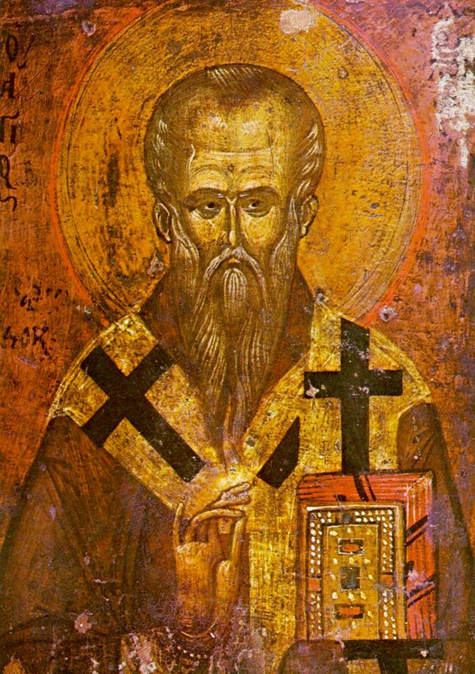 Saint clement of ohrid icon 13th 14th century