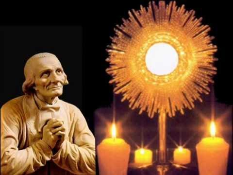 Saint cure d ars saint sacrement