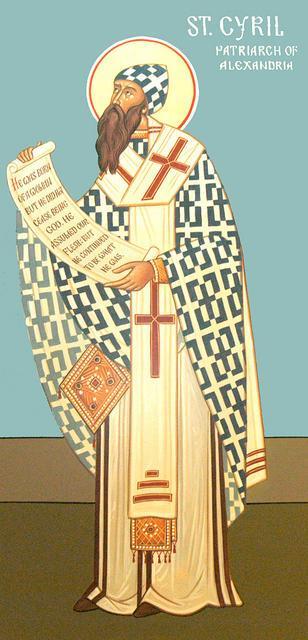 Saint cyrille alexandrie