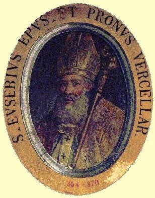 Saint eusebe eveque de verceil martyr 1