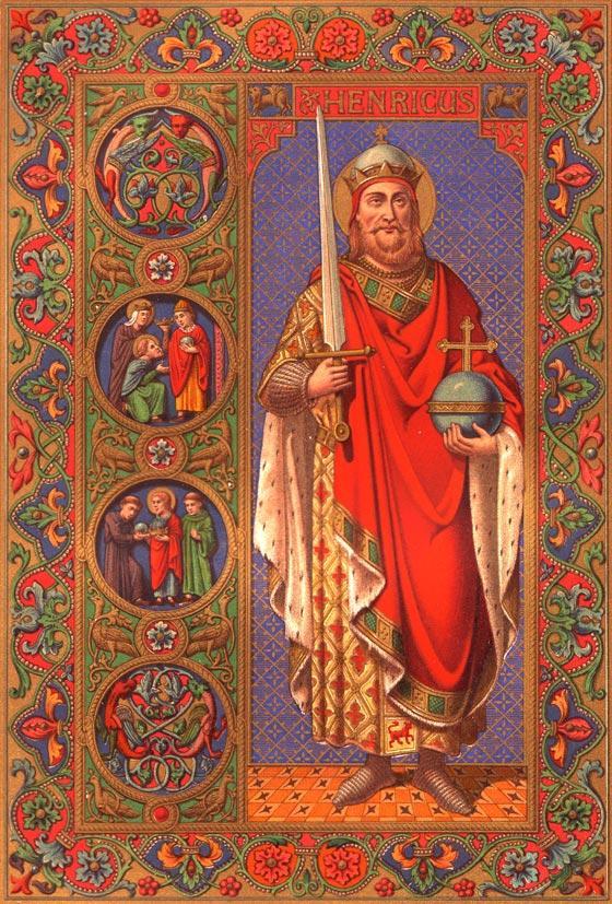 Saint henri empereur des romains romain germanique 2