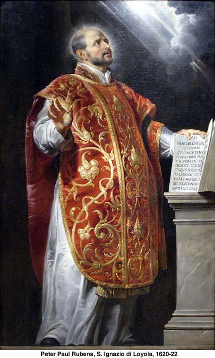 Saint ignace de loyola pretre fondateur de la compagnie de jesus 1491 1557