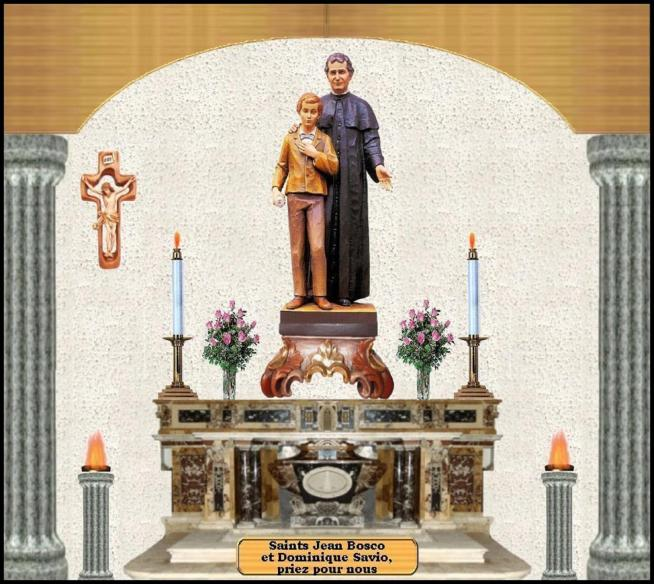 Saint jean bosco et saint dominique savio 11
