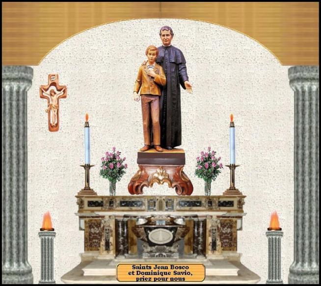 Saint jean bosco et saint dominique savio 11