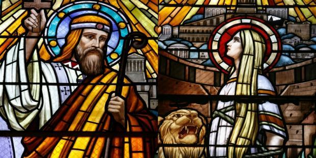 Saint pothin et sainte blandine
